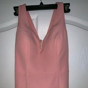 Janelle James Pink Long Dress